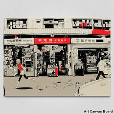 "Art Canvas Board: nihohe's ""20"""