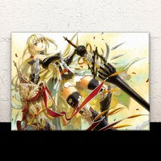 "Acrylic Art Panel: Fuumi's ""Knight Girl"""