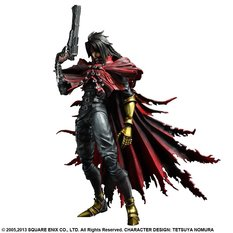 Final Fantasy VII: Advent Children Play Arts Kai  - Vincent Valentine