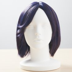 Medium Length Midnight-Navy Wig
