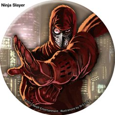 Ninja Slayer 2-Button Badge Set