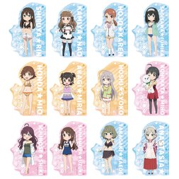 Idolm@ster Cinderella Girls Theater Ruler Keychain Charms Vol. 2