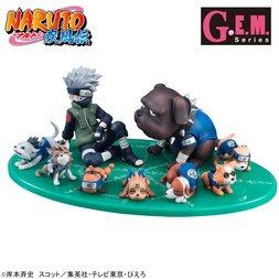 G.E.M. Series Gaiden! Naruto Shippuden Kakashi & Ninken Set
