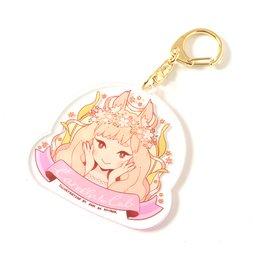 Kogitsune Girl Keychain