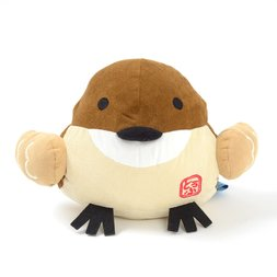 Hannari Tofu Sparrow Cushion