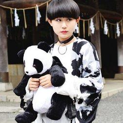 ACDC RAG Space Panda Kimono Cardigan