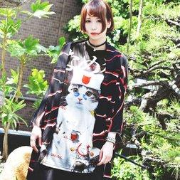 ACDC RAG Nameneko Socho T-Shirt Dress