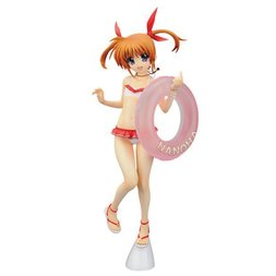 Nanoha Takamachi Swimsuit Ver. 1/7th Scale Figure | Lyrical Nanoha the Movie 1st