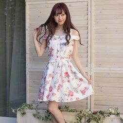 LIZ LISA Vintage Flower Pattern Dress