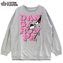 LISTEN FLAVOR Monokuma Slashing Sweatshirt