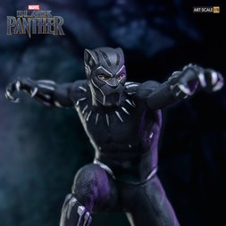 Battle Diorama Series Black Panther 1/10 Scale Black Panther