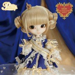 Pullip P-163: Midori Fukazawa x La Robe Vert Bleu Royal Ver.