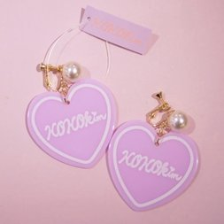 KOKOkim Heart Earrings