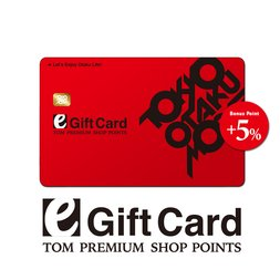 [eGift Card] TOM Points eGift Card