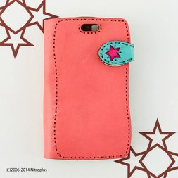 OJAGADESIGN Super Sonico Diary Pink x Blue iPhone6/6s Case
