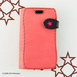 OJAGADESIGN Super Sonico Pink x Black Diary iPhone6/6s Case
