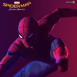 Battle Diorama Series Spider-Man: Homecoming 1/10 Scale Spider-Man