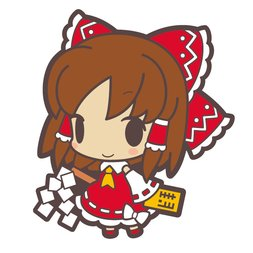 Touhou Poppuchi Rubber Strap Collection Part 1