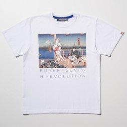 Eureka Seven x Ungreeper Anemone & Dominic White T-Shirt