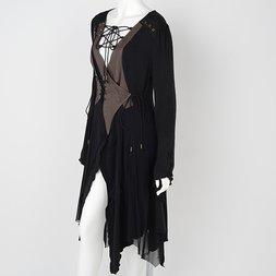 Rozen Kavalier Irregular Hem Cache Coeur Dress