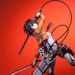 Hdge Technical Statue No. 5: Mikasa Trainee Corps Ver. | Attack on Titan