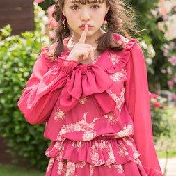 LIZ LISA Bouquet Hearts Top