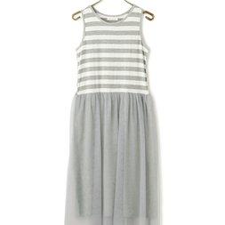 LIZ LISA Striped Tulle Dress