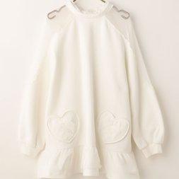 LIZ LISA Fleece-Lined Flared Dress