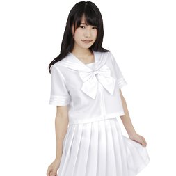 Color Sailor White Sailor Suit Cosplay Outfit