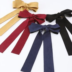 Honey Salon Long Ribbon Barrette