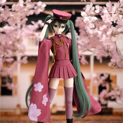 Dollfie Dream Hatsune Miku Senbonzakura Outfit Set