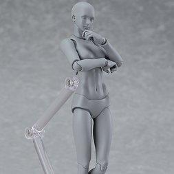 figma Archetype Next: She - Gray Color Ver. (Re-run)