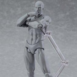 figma Archetype Next: He - Gray Color Ver. (Re-run)