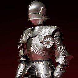 KT-021 Takeyashiki Jizaiokimono 15th Century Gothic Field Armor: Silver