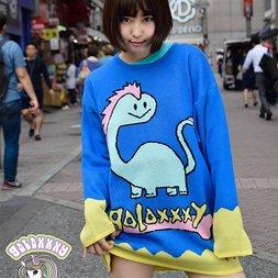 galaxxxy Gala-chan Knit Shirt