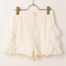 LIZ LISA Tiered Lace Shorts