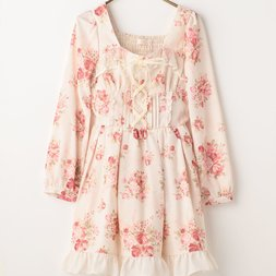 LIZ LISA Bouquet Ribbon Dress