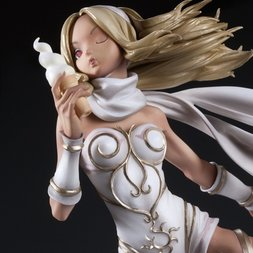 Hdge Technical Statue No. 04: Gravity Rush Kat White Ver. (Re-run)