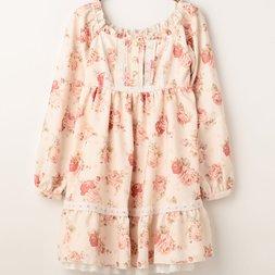 LIZ LISA Dot Floral Dress