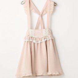 LIZ LISA Embroidered Jumper Skirt