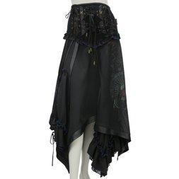Ozz Oneste Asymmetrical China Skirt