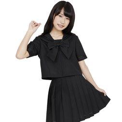 Color Sailor Black Sailor Suit Cosplay Outfit