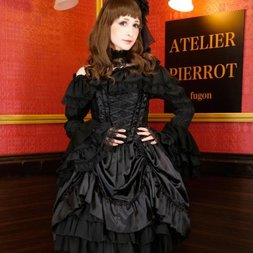 Atelier Pierrot Lace Corset Dress