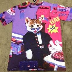 ACDC RAG Name Neko Game Center T-Shirt Dress