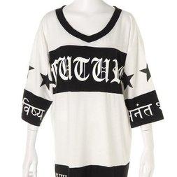GLAD NEWS Wing Skull Star Big T-Shirt