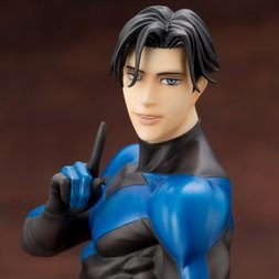 Nightwing Ikemen Statue (1st Edition w/ Bonus Part)