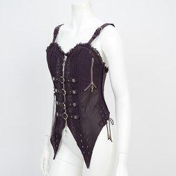 Rozen Kavalier Gothic Style Corset Vest