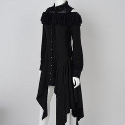 Ozz Oneste Irregular Hem Dress