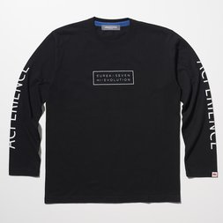Eureka Seven x Ungreeper Acperience Long Sleeve Black T-Shirt