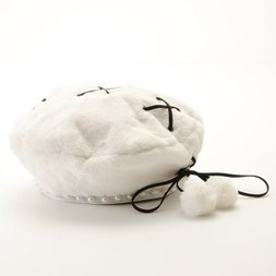 Swankiss Bonbon Lace-Up Beret
